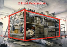 2-point perspective